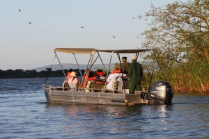 Boat trips in akagera national park