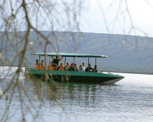 Lake Mburo National Park Boat cruise.