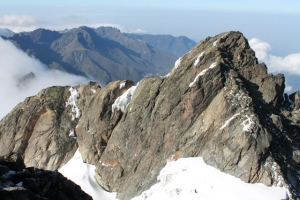 Mountain Rwenzori hiking