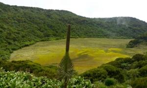 climb Mount Gahinga